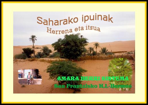 Saharako ipuinak - Herrena eta itsua