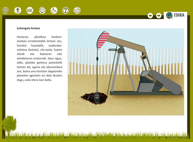 Plastikozko poltsa baten azterketa (Proyecto Agrega)